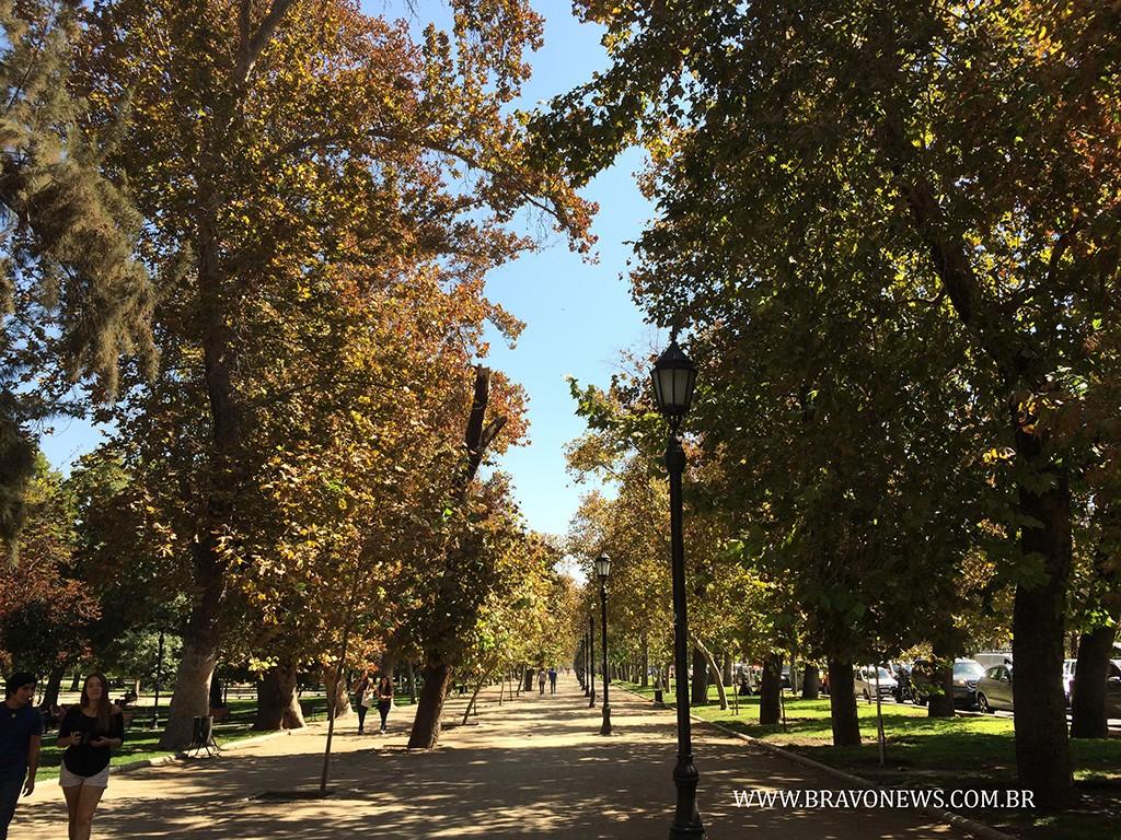 Santiago: Parque Florestal