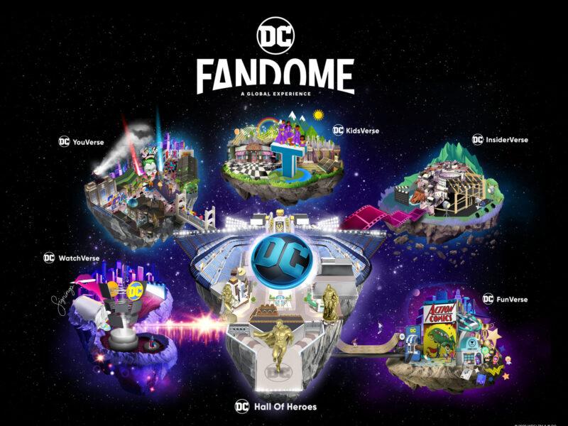 FANDOME – EXPERIÊNCIA VIRTUAL E IMERSIVA DE 24 HORAS NO UNIVERSO DC